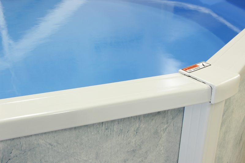pool toprail