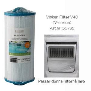 V40 filter
